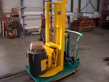 Chariot manipulateur 5 axes
